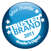 trusted brand 2011 logo