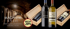Magnum - High quality Grasevina and Maximo Nero